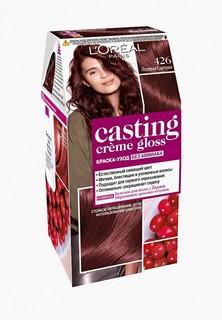 "Краска для волос LOreal Paris LOreal ""Casting Creme Gloss"" без аммиака, оттенок 426, Ледяная сангрия"