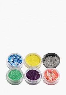 Набор Sofiprofi для дизайна ногтей в баночках (6 шт) №15 микс