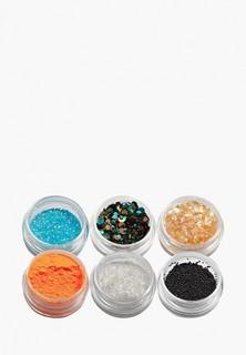 Набор Sofiprofi для дизайна ногтей в баночках (6 шт) №18 микс