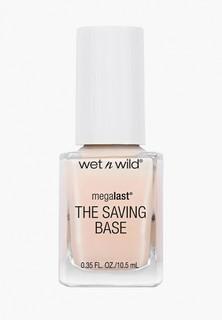 Лак для ногтей Wet n Wild MegaLast The Saving Base Fortifying Base Coat E220d never basic