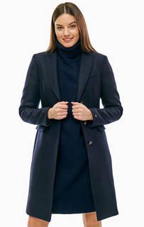 Классическое шерстяное пальто с карманами Tommy Hilfiger