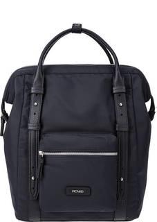 Текстильная сумка-рюкзак синенго цвета Picard