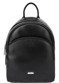 Рюкзак из гладкой кожи черного цвета Picard