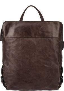 Кожаная сумка-рюкзак с отделением для планшета Aunts &; Uncles