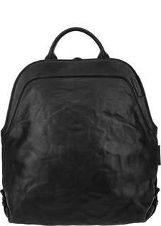 Кожаная сумка-рюкзак с двумя отделами Aunts &; Uncles