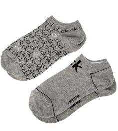 Комплект из двух пар серых носков Calvin Klein