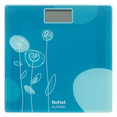 Напольные весы TEFAL PP1115V0, до 160кг, цвет: голубой [2100094625]