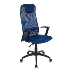 Кресло руководителя БЮРОКРАТ KB-8, на колесиках, сетка, синий [kb-8/db/tw-10n]