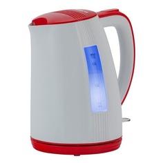 Чайник электрический POLARIS PWK 1790СL, 2200Вт, белый и красный