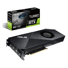 Видеокарта ASUS nVidia GeForce RTX 2070 , TURBO-RTX2070-8G, 8Гб, GDDR6, Ret