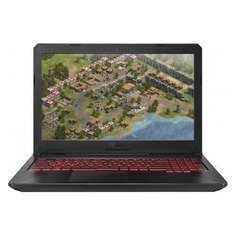 "Ноутбук ASUS ROG FX504GE-E4625T, 15.6"", IPS, Intel Core i5 8300H 2.3ГГц, 8Гб, 16Гб Intel Optane, 1000Гб, nVidia GeForce GTX 1050 Ti - 4096 Мб, Windows 10, 90NR00I3-M10540, черный"