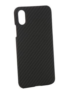 Аксессуар Чехол Pitaka MagCase Black-Grey для APPLE iPhone X KI8001X