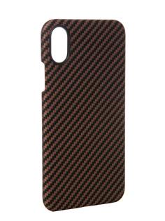 Аксессуар Чехол Pitaka Aramid Case для APPLE iPhone X Black-Yellow Twill KI8006X