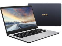 Ноутбук ASUS X405UA-BV860 90NB0FA7-M13060 Blue (Intel Core i3-6006U 2.0 GHz/4096Mb/1000Gb/No ODD/Intel HD Graphics/Wi-Fi/Bluetooth/Cam/14.0/1366x768/Endless)