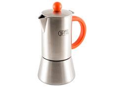 Кофеварка Gipfel Crupp 200ml на 4 порции Steel-Red 5316