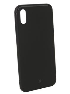 Аксессуар Чехол TTEC 2PNS137S для APPLE iPhone X Black TEC-8694470659862