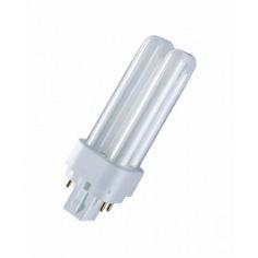 Люминесцентная компактная лампа dulux d/e 26w/840 g24q-3 osram 4050300020303