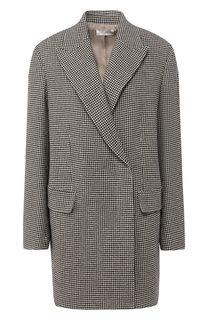 Шерстяное пальто с отложным воротником The Row