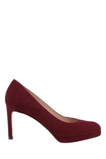Красные замшевые туфли Beatrix Stuart Weitzman