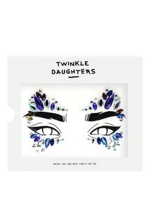 Патч для лица «маска» с фиолетовыми кристаллами Twinkle Daughters