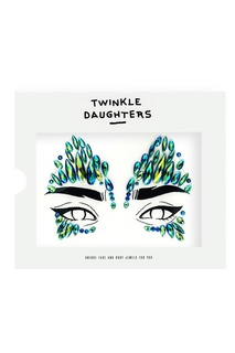 Патч для лица «маска» с зелеными кристаллами Twinkle Daughters