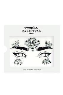 Патч для лица из пяти частей с прозрачными кристаллами Twinkle Daughters