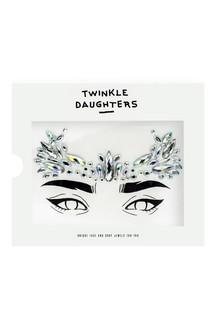 Патч для лица «корона» с кристаллами мультиколор Twinkle Daughters