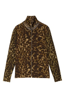 Куртка с леопардовым принтом Stella Mc Cartney