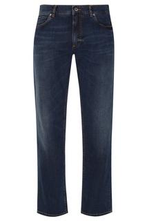 Прямые синие джинсы Dolce & Gabbana