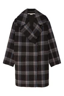 Шерстяное пальто в клетку Stella Mc Cartney