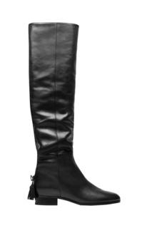 Кожаные сапоги Bowie Boot Flat Aquazzura
