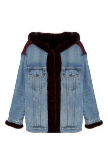 Джинсовая куртка на меху Milangel