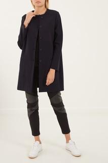 Синее хлопковое пальто Amina Rubinacci