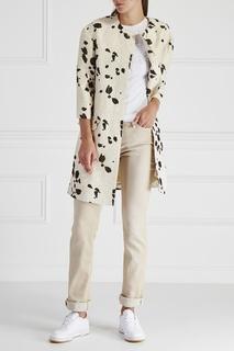 Пальто с принтом Hoss Intropia