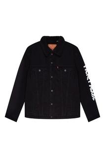 Джинсовая черная куртка Levis® х Disney © Mickey Mouse