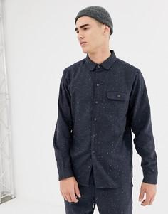 Рубашка в крапинку Another Influence - Темно-синий