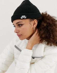 Черная шапка-бини Nike Sb - Черный