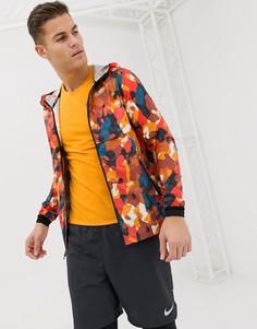 Оранжевая куртка со светоотражающей отделкой Nike Running Just Do It AH5987-634 - Оранжевый