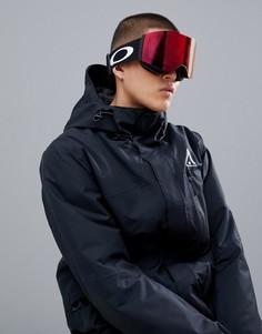 Защитные очки с черным ремешком Oakley - Черный