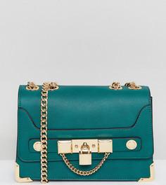 Зеленая сумка через плечо с цепочкой ALDO - Зеленый