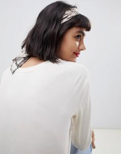 Головной платок со змеиным принтом ASOS DESIGN - Мульти