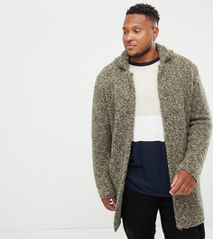 Фактурная куртка цвета хаки ASOS DESIGN Plus - Зеленый