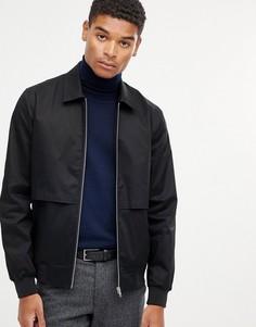 Черная куртка Харрингтон ASOS DESIGN - Черный