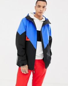Черная/синяя горнолыжная куртка adidas Snowboarding Premiere - Черный