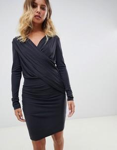 Трикотажное платье AllSaints Sofia - Черный