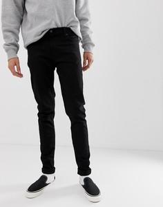 Черные супероблегающие джинсы Weekday Tall - Черный