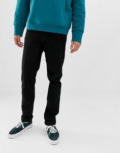 Черные суженные книзу джинсы Weekday Tall Sunday - Черный