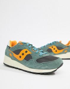 Зеленые кроссовки Saucony Shadow 5000 S70404-9 - Зеленый
