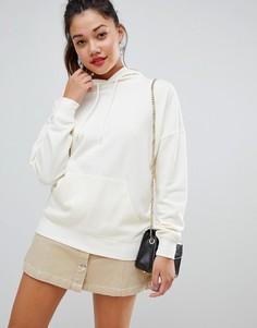 Oversize-худи белого цвета New Look - Белый