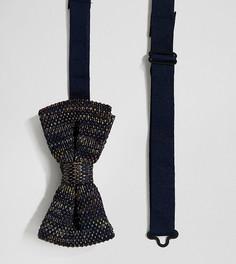Вязаный галстук-бабочка Heart & Dagger - Красный